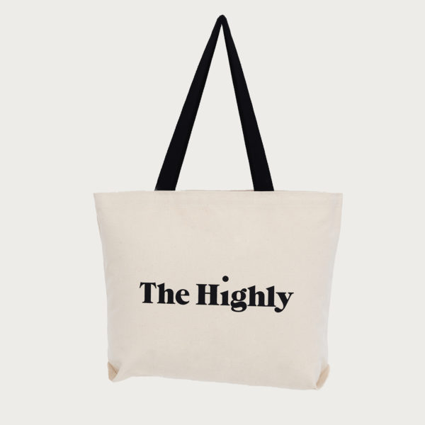 The Highly signature canvas tote