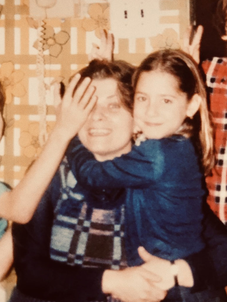 Nina and her mother